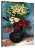 Vincent van Gogh 'Vase With Carnations and Other Flowers' Wrapped Canvas Art