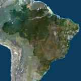 Satellite Image of Brazil