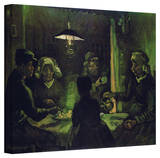 Vincent van Gogh 'The Potato Eaters' Wrapped Canvas Art