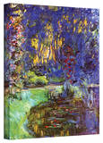 Claude Monet 'Giverny' Gallery Wrapped Canvas