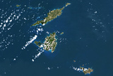 Satellite Image of Anguilla