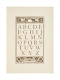 Letters Of the Alphabet the Golden Primer