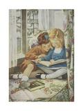 Young Boy and Girl Giclée par Jessie Willcox-Smith