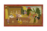 First Chanting Of the Ramayana