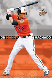 Manny Machado Baltimore Orioles MLB Sports Poster