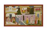 Rishyasringa Enters the Palace