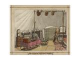 Interior Of My Tent High Ground Bangalore  1863 - 1868