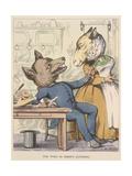 Aesop Fables Giclée par C.H. Bennett