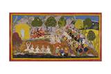 Rama Refuses Bharata's Entreaties To Return