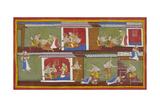 Bharata and Satrughna Return To Ayodhya