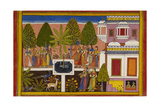Rama and Sita Are United in Marital Happiness