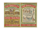 Chas Baker and Co Stores