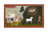 King Sagara Performs a Sacrifice