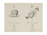 Cake and Doll Illustrations and Verses From Nonsense Alphabets Drawn and Written by Edward Lear