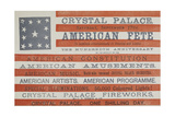 American Fete at Crystal Palace  Saturday  September 17th