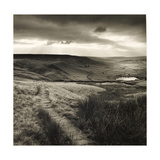 Path and Reservoir Above Lumbutts in Yorkshire Photographed For 'Remains Of Elmet' by Ted Hughes