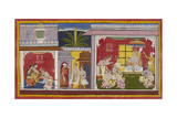 Bharata Departs For His Grandfather's
