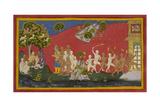 Hanuman Returns To Lanka