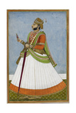 Portrait Of Maharaja Jagat Singh Of Jaipur (R1803-1818)