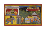 Hanuman Tells Of Rama's Return