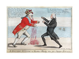 The War Of 1812: the Boxing Match  Or Another Bloody Nose For John Bull