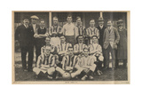 Epsom Town Football Club Photograph Of Players and Staff