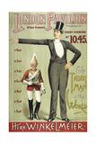 London Pavillion  Piccadilly  1887 the Tallest Man in the World Herr Winkelmeier