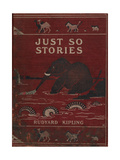 Illustrated Front Cover Showing an Elephant