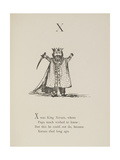 King Xerxes Illustrations and Verse From Nonsense Alphabets by Edward Lear