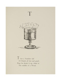 Tumbler Illustrations and Verse From Nonsense Alphabets by Edward Lear