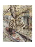 The Wind in the Willows Giclée par Arthur Rackham