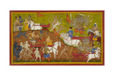 Rama Is Given Indra's Armour and Chariot
