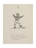 Screaming Youth Illustrations and Verses From Nonsense Alphabets Drawn and Written by Edward Lear