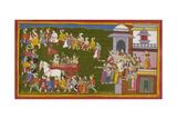 The Exiles Leave Ayodhya