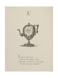 Urn Illustrations and Verses From Nonsense Alphabets Drawn and Written by Edward Lear
