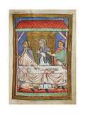 Miniature Of Cuthbert at a Dining Table