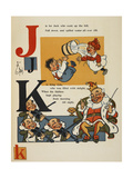 Alphabet Page: J and K Jack and Jill King Cole