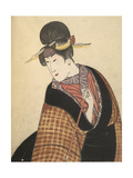 Kabuki Actor in Female Role