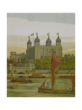 View Of the Tower Of London Illustration From London Town'