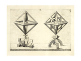 Illustration Of Sculpture Geometric Designs Illustrating Euclidian Principles Of Geometry