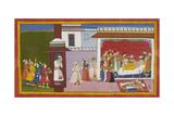 Dasaratha Dies Of Grief