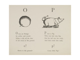 Orange and Pig Illustrations and Verses From Nonsense Alphabets Drawn and Written by Edward Lear