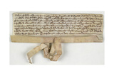 Charter Of Claybrooke Magna