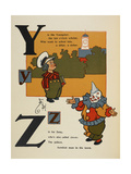 Alphabet Page: Y and Z Young Scholar Zany the Clown