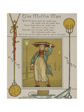 The Muffin ManA Seller Of Muffins and Crumpets Illustration From London Town'