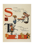 Alphabet Page: S and T Simple Simon Tom Piper