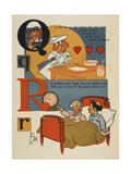 Alphabet Page: Q and R the Queen Who Baked the Nice Tarts Richard and Robin