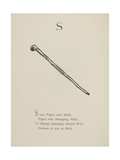 Stick Illustrations and Verses From Nonsense Alphabets Drawn and Written by Edward Lear