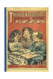 Front Cover With Three Children Reading a Book