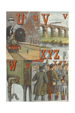U For Underground  V For Viaduct  W For Water Tank  X For 'xcursion  Y For Yeomen  Z For Zouaves